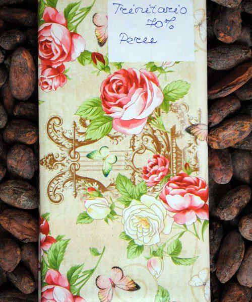 Шоколад настоящий 70% какао, сорт Тринитарио