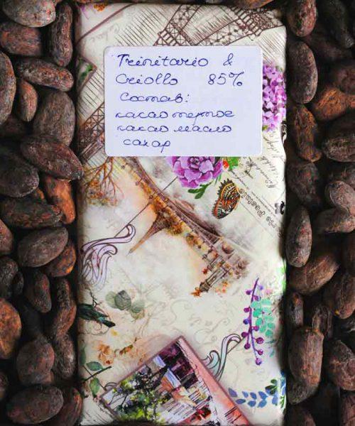 Натуральный шоколад 85% Criollo