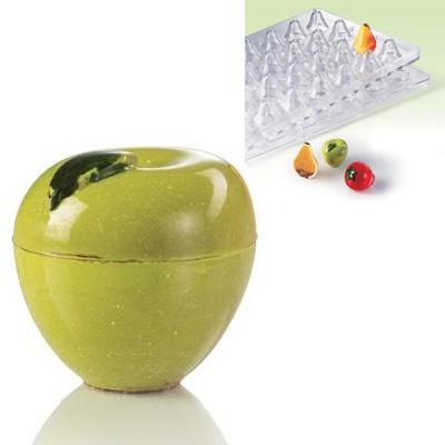 Поликарбонатная 3D форма Яблоко