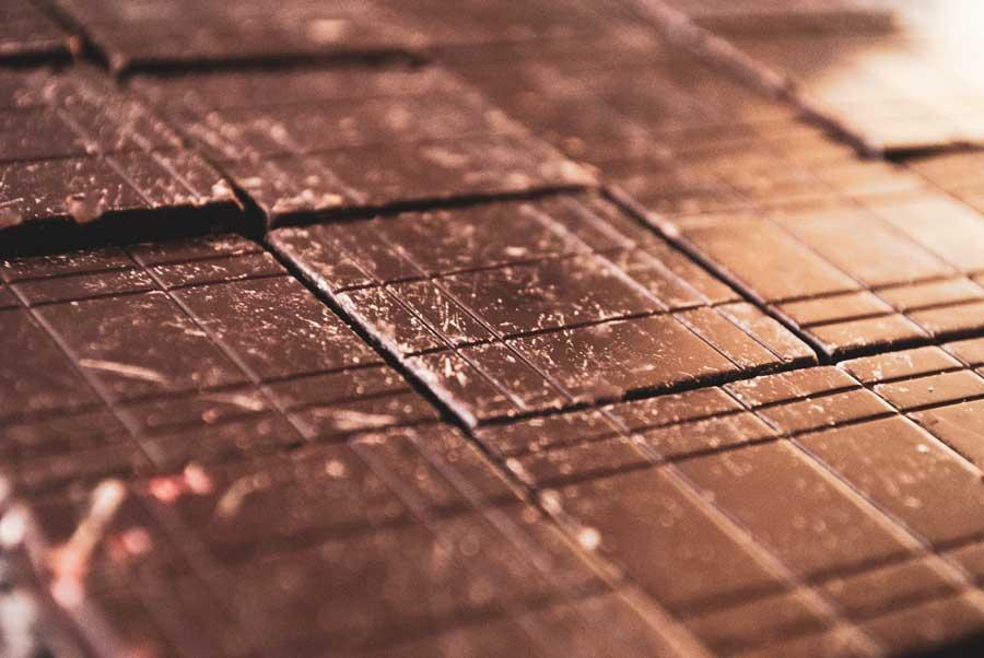 Chocolate callets Trinity