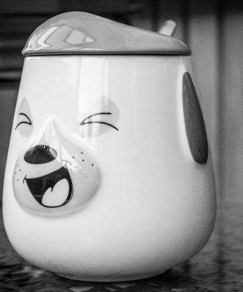 Чашка Собачка керамика