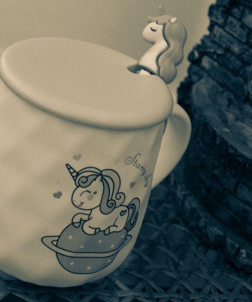 Чашка - Единорог керамика