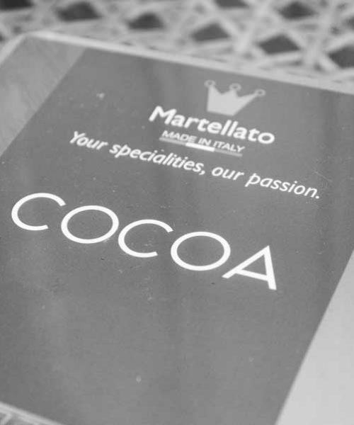 Поликарбонатная форма какао бобы Martellato