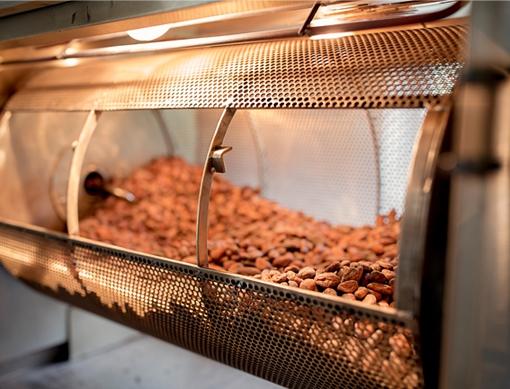 Барабанный ростер для какао бобов