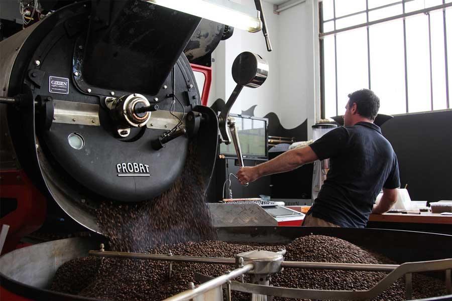 Кофейный ростер